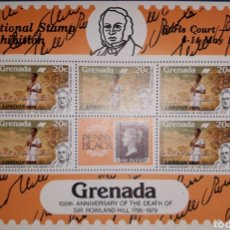 Sellos: HOJA BLOQUE GRENADA LONDON 1980. Lote 149604322