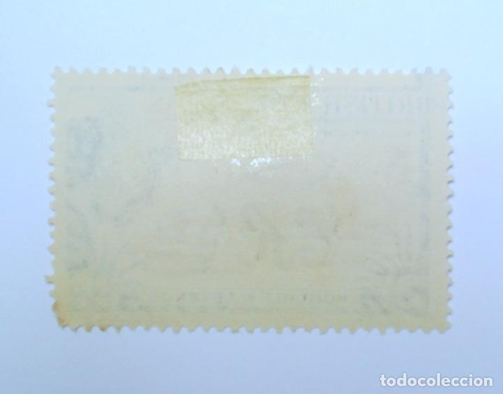 Sellos: Sello postal BRITISH HONDURAS 1953 , 2 C ,TAPIR AMERICA CENTRAL, Usado - Foto 2 - 150799014