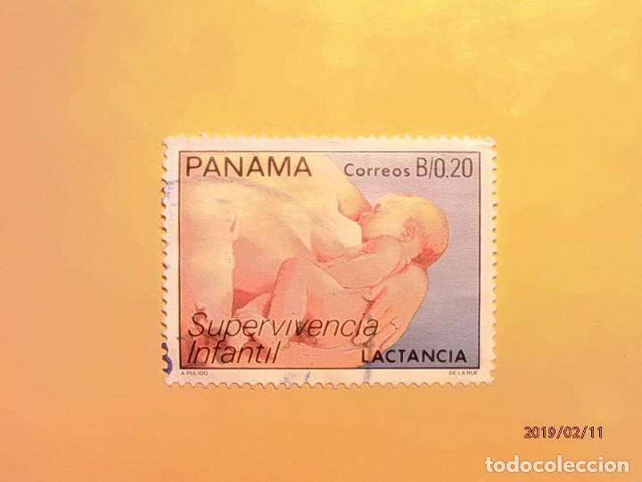 PANAMÁ - SUPERVIVENCIA INFANTIL - LACTANCIA - MADRE CON NIÑO. (Sellos - Extranjero - América - Otros paises)