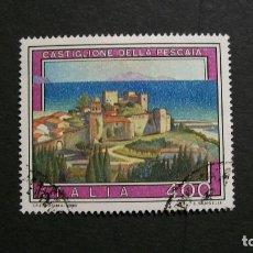 Sellos: ITALIA-1988-400L. Y&T 1777/º/-ARQUITECTURA-CASTILLOS. Lote 151627034