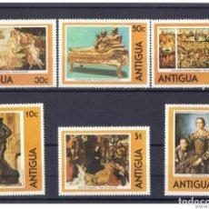 Sellos: ANTIGUA 1980 - YVERT 572 / 77 ** ( NUEVO ). Lote 156448498