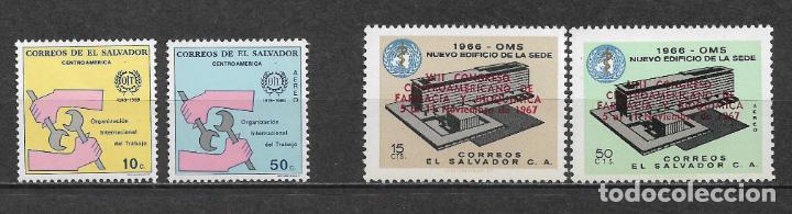 EL SALVADOR ** NUEVOS - 3/26 (Sellos - Extranjero - América - Otros paises)
