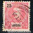 Sellos: ANGRA (AZORES) Nº 31, EL REY CARLOS I DE PORTUGAL, USADO. Lote 158428186