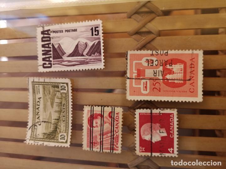 Sellos: LOTE DE SELLOS ANTIGUOS DE CANADA ,NO SE DESCOMPLETA EL LOTE - Foto 3 - 158669206