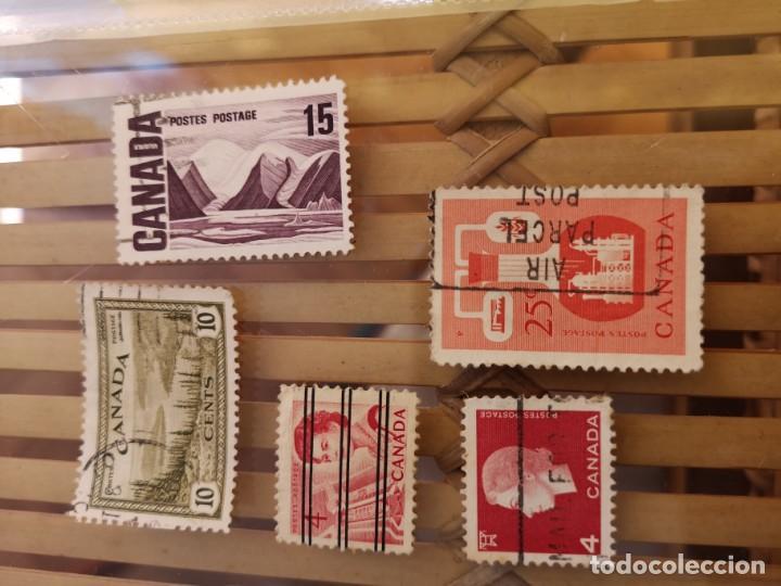 Sellos: LOTE DE SELLOS ANTIGUOS DE CANADA ,NO SE DESCOMPLETA EL LOTE - Foto 4 - 158669206
