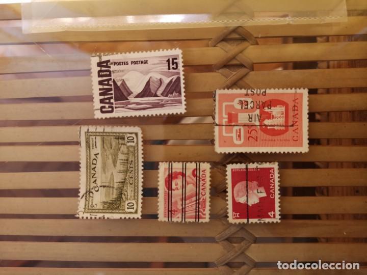 Sellos: LOTE DE SELLOS ANTIGUOS DE CANADA ,NO SE DESCOMPLETA EL LOTE - Foto 5 - 158669206