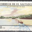 Sellos: EL SALVADOR - UN SELLO - ***T U R I S M O***- AÑO 1969 - USADO. Lote 159020206