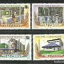 Sellos: SAN VICENTE 1985 IVERT 878/81 *** INDUSTRIA DEL CEREAL - AGRICULTURA. Lote 159947338
