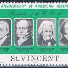 Sellos: SAN VICENTE 1975 - YVERT 414 / 16 ( ** ). Lote 160267746
