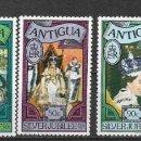 Sellos: ANTIGUA 1977 ** NUEVO MONARQUIA - 4/34. Lote 160434138