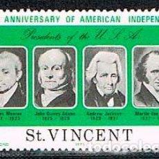 Stamps - San Vicente nº 423, Bicentenario de la Independencia de los Estados Unidos (presidentes), nuevo *** - 160479834
