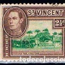 Sellos: SAN VICENTE Nº 135, REY JORGE VI Y VISTAS LOCALES, NUEVO ***. Lote 160480354