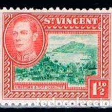 Sellos: SAN VICENTE Nº 132, REY JORGE VI Y VISTAS LOCALES, NUEVO ***. Lote 160480470