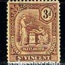 Sellos: SAN VICENTE Nº 82, SERIE BÁSICA, (AÑO 1909), NUEVO CON SEÑAL DE CHARNELA. Lote 160480934
