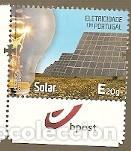 PORTUGAL ** & ELECTRICIDAD EN PORTUGAL, ENERGÍA SOLAR 2018 (6886) (Sellos - Temáticas - Varias)
