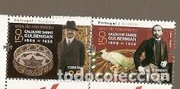 PORTUGAL ** & EDICIÓN CON ARMENIA, 150 AÑOS DEL NACIMIENTO CALOUSTE SARKIS GULBENKIAN 2019 (8480) (Sellos - Temáticas - Varias)