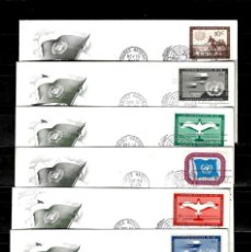 Sellos: NACIONES UNIDAS 1951 OFICINA DE NUEVA YORK LOTE DE 12 SOBRES PRIMER DIA. Lote 160979918
