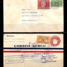 Sellos: PANAMA LOTE DE 2 CARTAS CIRCULADAS A COLOMBIA . Lote 160981190