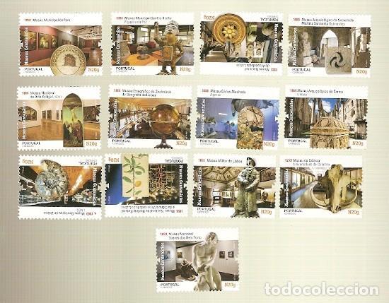 PORTUGAL ** & MUSEOS CENTENARIOS DE PORTUGAL 2019 (6886) (Sellos - Temáticas - Varias)