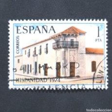 Sellos: (S-SD1) SELLO USADO ESPAÑA - HISPANIDAD 1974 - CASA DE SOBREMONTE CORDOBA ARGENTINA. Lote 163540030