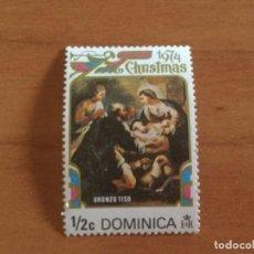 Sellos: SELLO DE DOMINICA 1/2C. NAVIDADES 1974. Lote 164727230