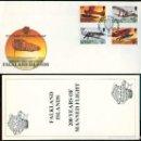 Sellos: ISLAS MALVINAS 1983 - SPD - 200 AÑOS DE VUELO TRIPULADO. Lote 165596758