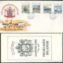 Sellos: ISLAS MALVINAS 1984 - SPD - 250 ANIVERSARIO DE LA LISTA DE LLOYD. Lote 165597310