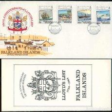 Timbres: ISLAS MALVINAS 1984 - SPD - 250 ANIVERSARIO DE LA LISTA DE LLOYD. Lote 165597310