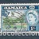 Sellos: JAMAICA,ISABELI,1956,USADO,YVERT 175. Lote 165764026