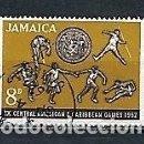 Sellos: JAMAICA,1962,JUEGOS DEL CARIBE,USADO,YVERT 206. Lote 165766130