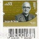 Sellos: PORTUGAL ** & HISTORIA Y CULTURA PORTUGUESA, JORGE DE SENA, POETA 2019 (3422). Lote 166386202