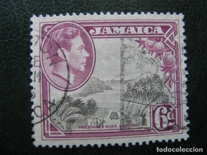 JAMAICA, 1938 JORGE VI, YVERT 130 (Sellos - Extranjero - América - Otros paises)