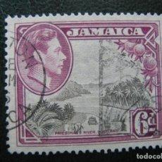 Sellos: JAMAICA, 1938 JORGE VI, YVERT 130. Lote 167259272