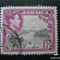 Sellos: JAMAICA, 1938 JORGE VI, YVERT 130. Lote 167259580