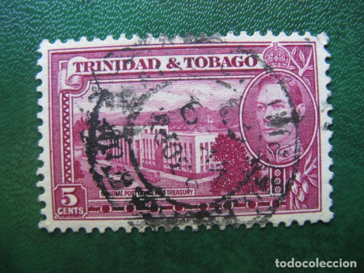 TRINIDAD Y TOBAGO, 1938 YVERT 141B (Sellos - Extranjero - América - Otros paises)