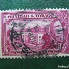 Sellos: TRINIDAD Y TOBAGO, 1938 YVERT 141B. Lote 167977364