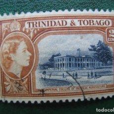 Sellos: TRINIDAD Y TOBAGO, 1953, YVERT 160. Lote 167977768