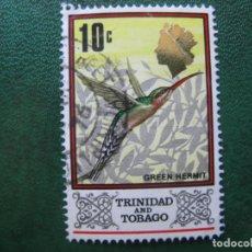 Sellos: TRINIDAD Y TOBAGO, 1969 YVERT 236. Lote 167979100