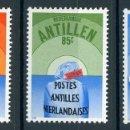 Sellos: ANTILLAS HOLANDESAS 1982 IVERT 661/63 *** EXPOSICIÓN FILATÉLICA INTERNACIONAL - PHILEXFRANCE-82. Lote 168178224