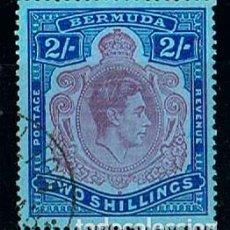 Sellos: BERMUDA, 114, EL REY JORGE VI, USADO. Lote 170524704
