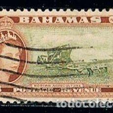 Sellos: BAHAMAS, 164, TRABAJOS AGRICOLAS, USADO. Lote 170529192