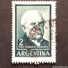 Sellos: (C-22) SELLO USADO - ARGENTINA - 2 PESOS. Lote 171072305