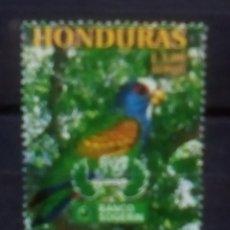 Sellos: HONDURAS AVES SELLO USADO. Lote 171523438