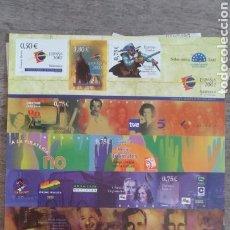 Sellos: HOJA BLOQUE SELLOS EXPOSICIÓN MUNDIAL DE FILATELIA JUVENIL SALAMANCA 2002. Lote 172067530