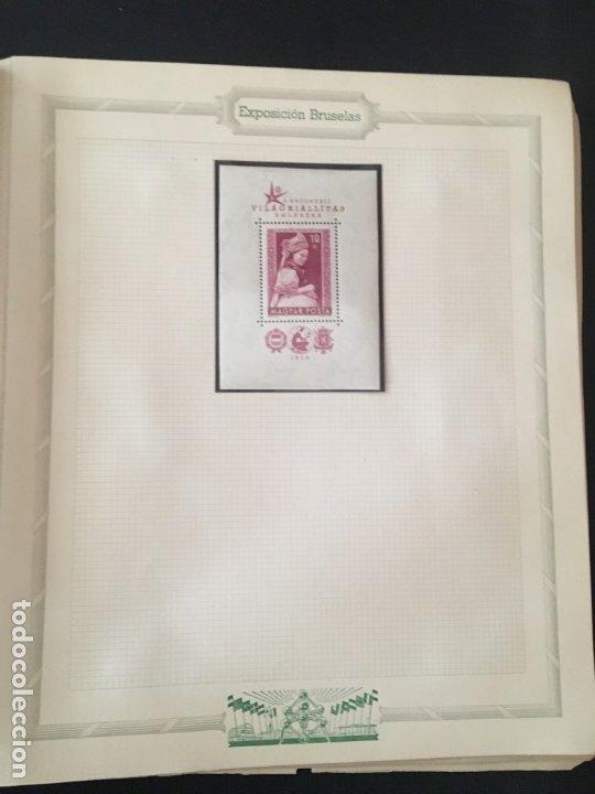 Sellos: EXPOSICIÓN DE BRUSELAS 1958, COLECCIÓN DE SOBRES PRIMER DÍA Y HOJAS BLOQUE DE DISTINTOS PAISES. - Foto 18 - 173157915