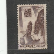 Sellos: ST. PIERRE ET MIQUELON 1947 - YVERT NRO. 325 - USADO. Lote 173817944