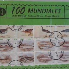 Sellos: SOBRE 100 SELLOS MUNDIALES DIFERENTES CHACHI AÑOS 70. Lote 173866444