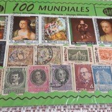 Sellos: 100 SELLOS MUNDIALES DIFERENTES CHACHI. Lote 174387582