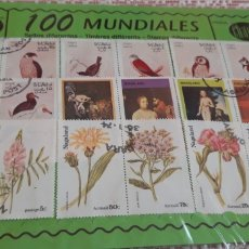 Sellos: 100 SELLOS MUNDIALES DIFERENTES CHACHI. Lote 174387850