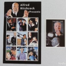 Sellos: ALFRED HITCHCOCK. Lote 175136079
